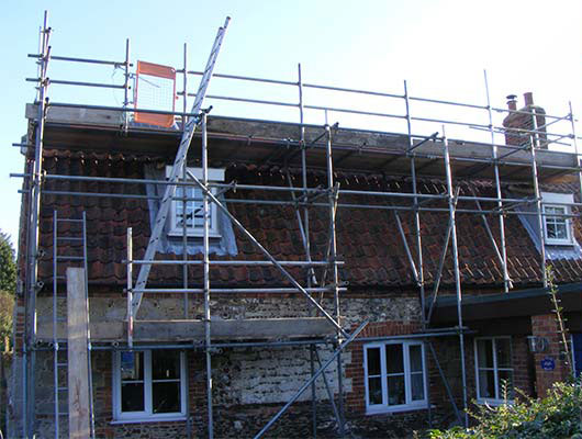 Traditional Scaffolding 4